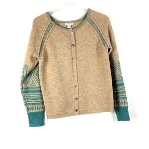 Sundance - lambswool button down cardigan sweater